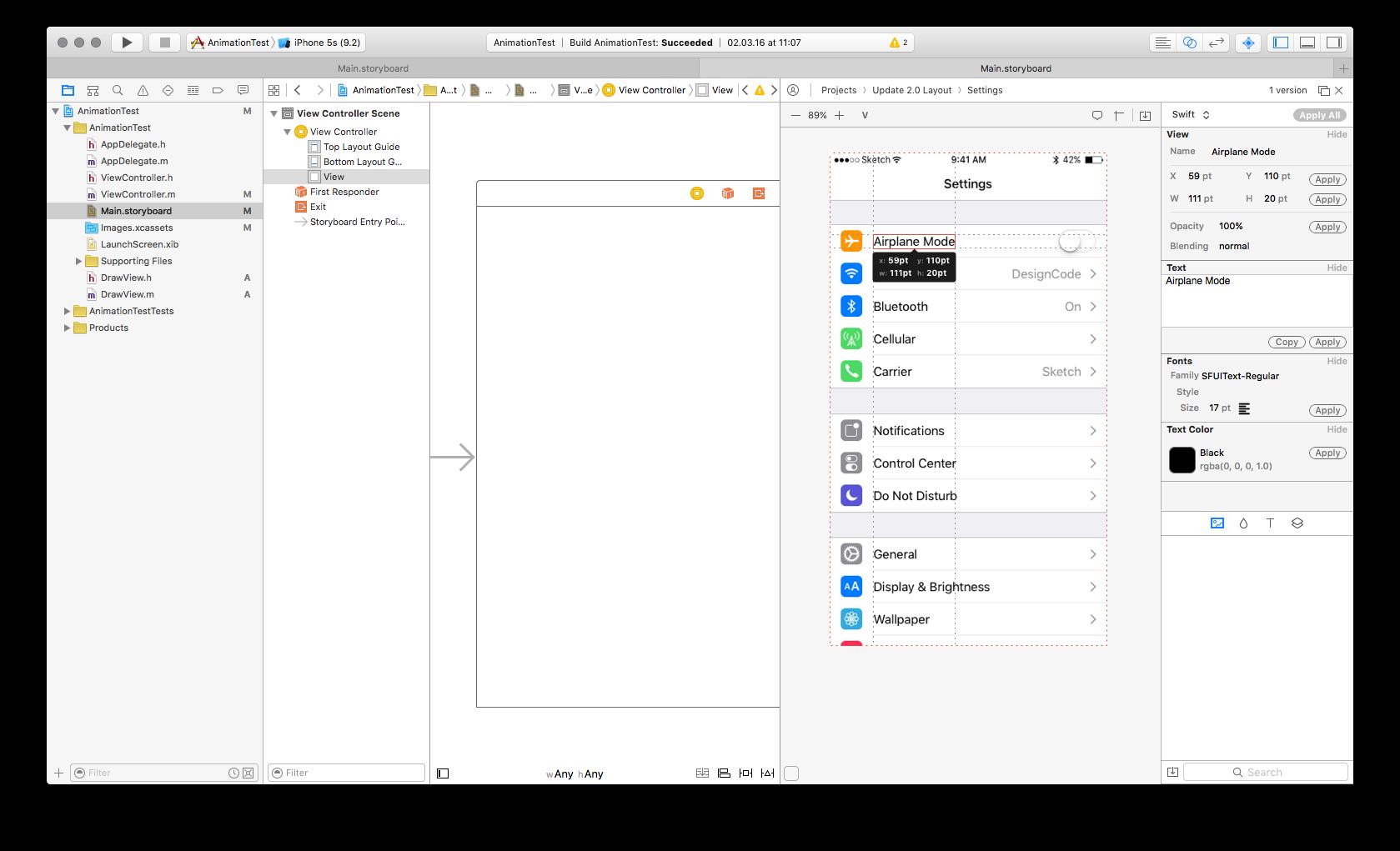 Плагин Sympli в Xcode
